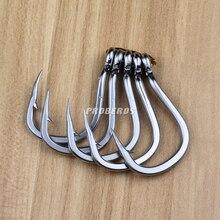 20pc Saltwater Fishing Hook SJ42 JIGGING HOOK 1/0#-13/0# Model Stainless Steel Fishhook Made in Taiwan
