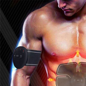 Image 4 - Unisex Muscle Stimulator Wireless Trainer Smart Fitness Abdominal Training Electric Weight Loss Stickers Body Slimming Belt
