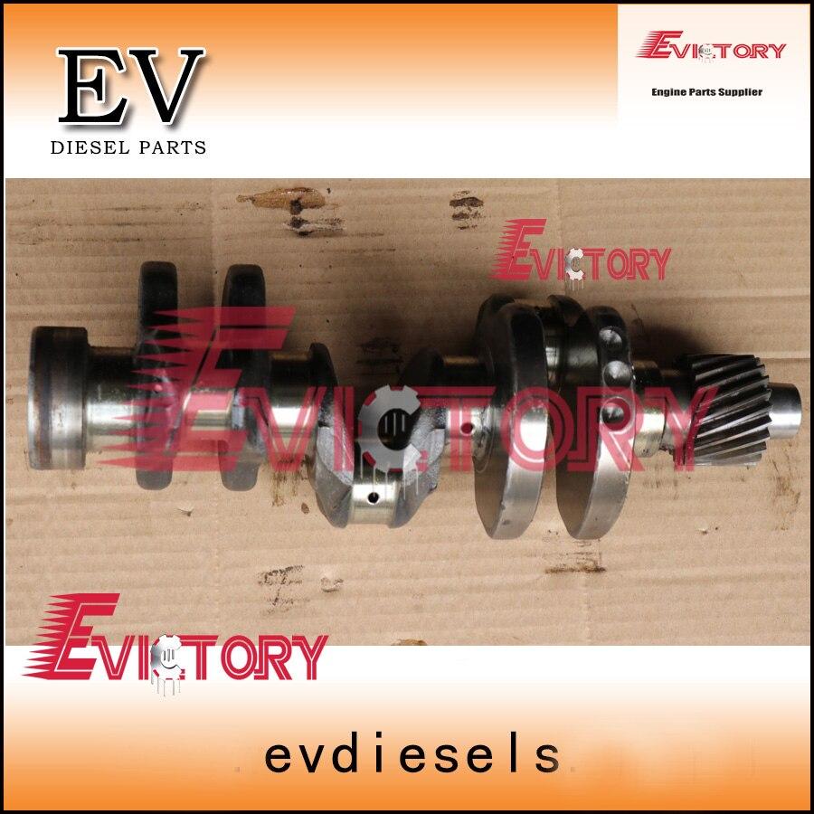 For Yanmar engine rebuild parts 3TNA68 crankshaft forging steel