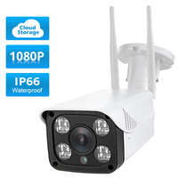 Fuers Outdoor Security Camera Cloud Cam Wireless IP 1080p Resolution Waterproof Night Vision Security Surveillance System
