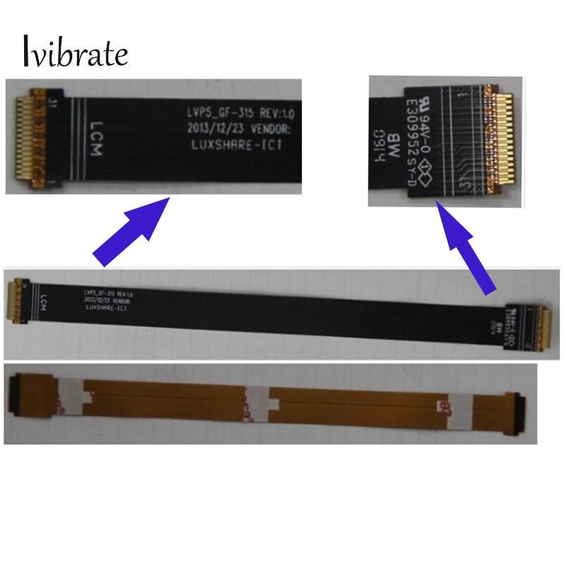 2PCS New For Lenovo Pad A5500 LCM Flex Cable Display FPC Tested New For Lenovo Pad A 5500 Free Shipping
