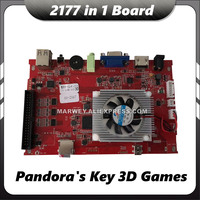 Pandora's Key 7 Arcade Game Console Motherboard VGA Output Jamma PCB Board 2177 in 1 Multi Game Box 3D MAME DIY Parts Multigames