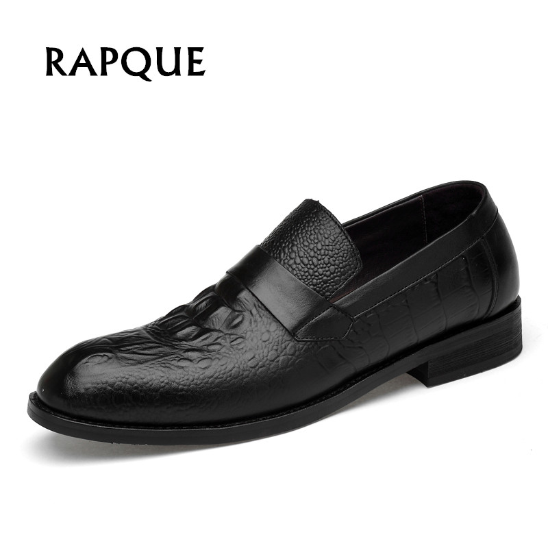 Mens Dress shoes Men shoes genuier cow leather alligator party wedding chemise shoes solid top quality 5 style 9191 RAPQUE jenni new pink solid ruffled chemise l $39 5 dbfl
