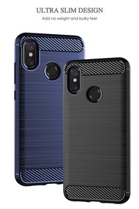 Image 4 - เคสโทรศัพท์สำหรับ xiaomi mi 8 Lite mi 8 mi 8lite ซอฟท์ซิลิโคน TPU คาร์บอนไฟเบอร์ป้องกัน xiaomi 8 8lite เกราะฝาครอบ Fundas