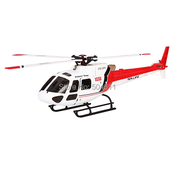 Free shipping New 2015 WLtoys V931 2.4G 6CH & 3D Brushless AS350 Scale Flybarless RC Helicopter