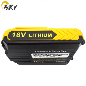 Image 3 - Bateria de ferramenta de alimentação de íon de lítio, 18v fmc687l pcc680l pcc685l lbx20 lbxr20 para stanley pai max Fmc687l Xj