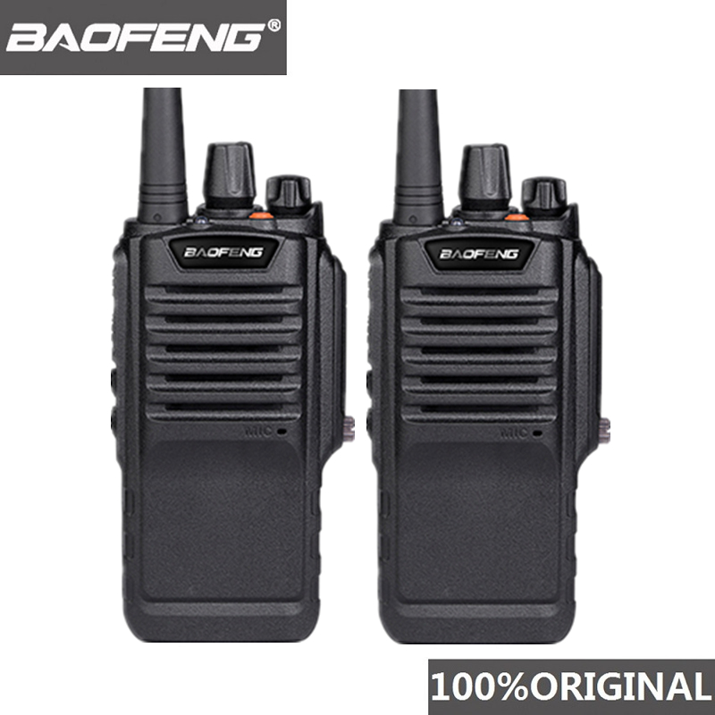 2pcs Baofeng BF 9700 High Power Walkie Talkie BF 9700 Long Range Walky Talky Professional Ham Radio Uhf Radio Comunicador 10 Km-in Walkie Talkie from Cellphones & Telecommunications