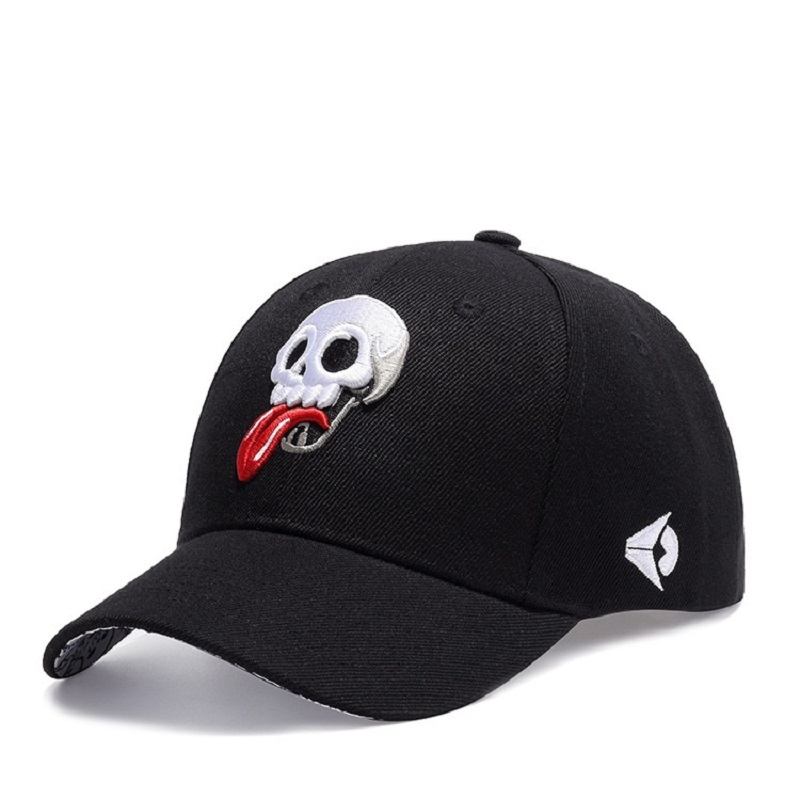 Fashion New Arrival Snapback Hat Bone Snap Back gorras Men Hip Hop Cap Baseball Cap Fashion Skull Flat-brimmed Hat