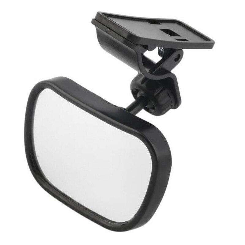 Автомобильное зеркало заднего вида, детское зеркало для безопасности детей, зажим и присоска, двойное крепление, зеркало заднего вида, авто...