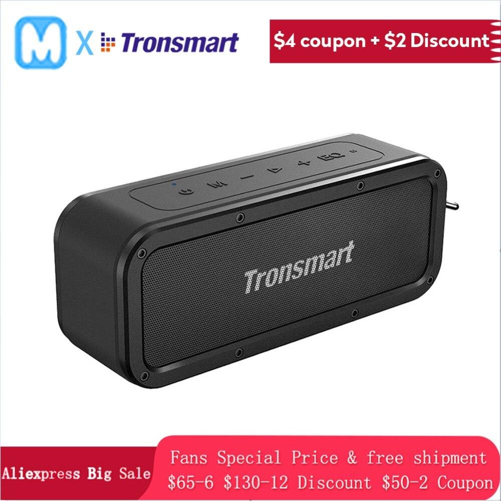 Tronsmart Element Force Bluetooth haut-parleur Portable sans fil haut-parleur pour téléphones avec NFC mic IPX7 étanche 40 W mini haut-parleur