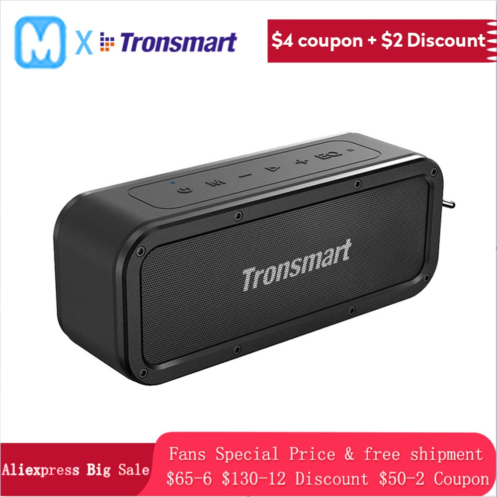 Tronsmart Element Force Bluetooth Speaker  Portable Wireless speaker for phones with NFC mic IPX7 Waterproof 40W mini speakerTronsmart Element Force Bluetooth Speaker  Portable Wireless speaker for phones with NFC mic IPX7 Waterproof 40W mini speaker