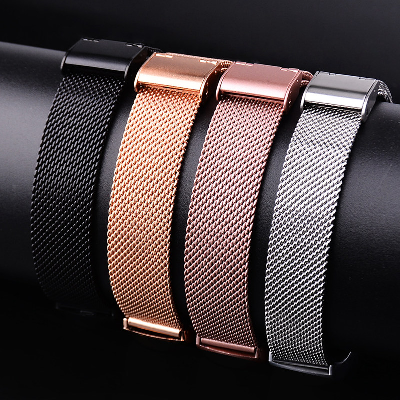 Metal Buckle Strap For Huawei Band 3 Pro Milanese Loop Replacement Strap Stainless Steel Band For Huawei 3 Strap Accessories