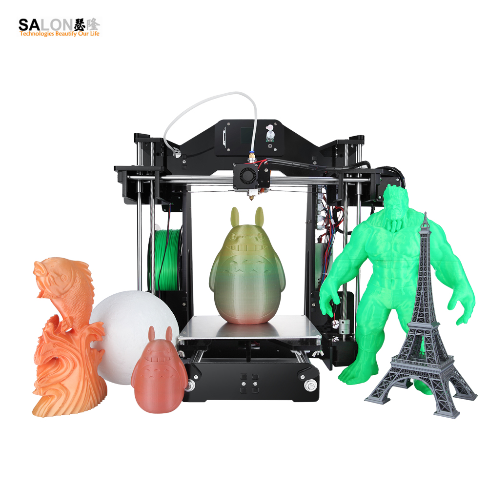 Sinis Z1 Acrylic Frame High Precision 3d Printer DIY Kit LCD Hot Sell Machine Larger Print