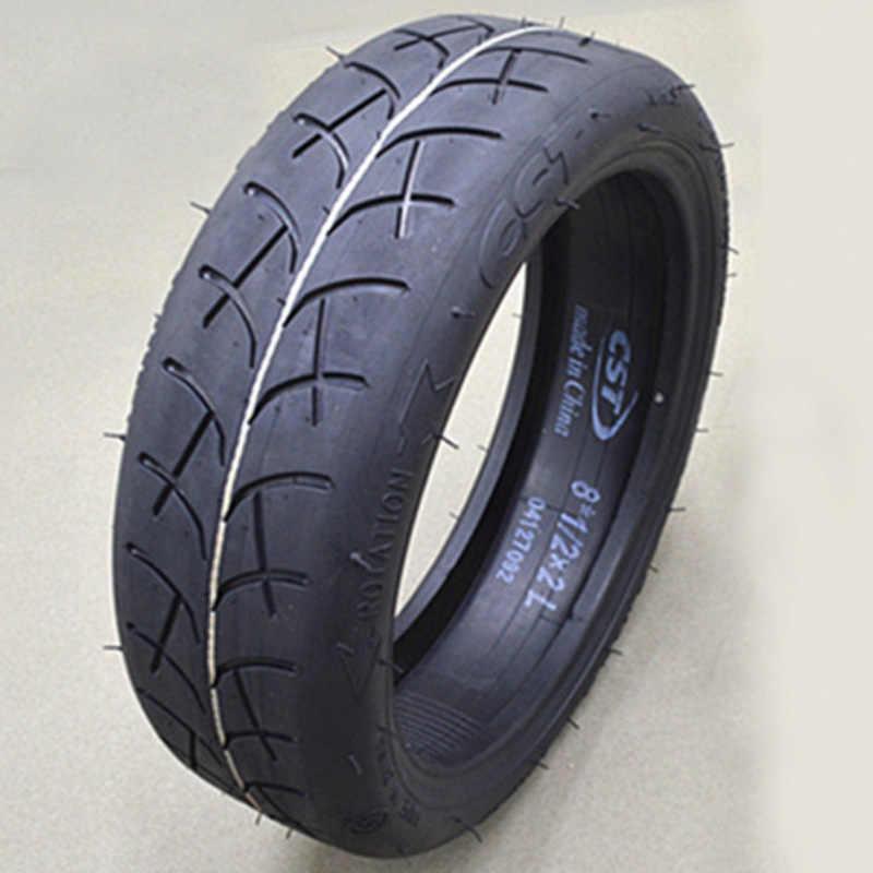 アップグレードオリジナル cst 外タイヤインフレータブルタイヤ 8 1/2X2 チューブ xiaomi mijia M365 電動スクータータイヤ交換インナーチューブ