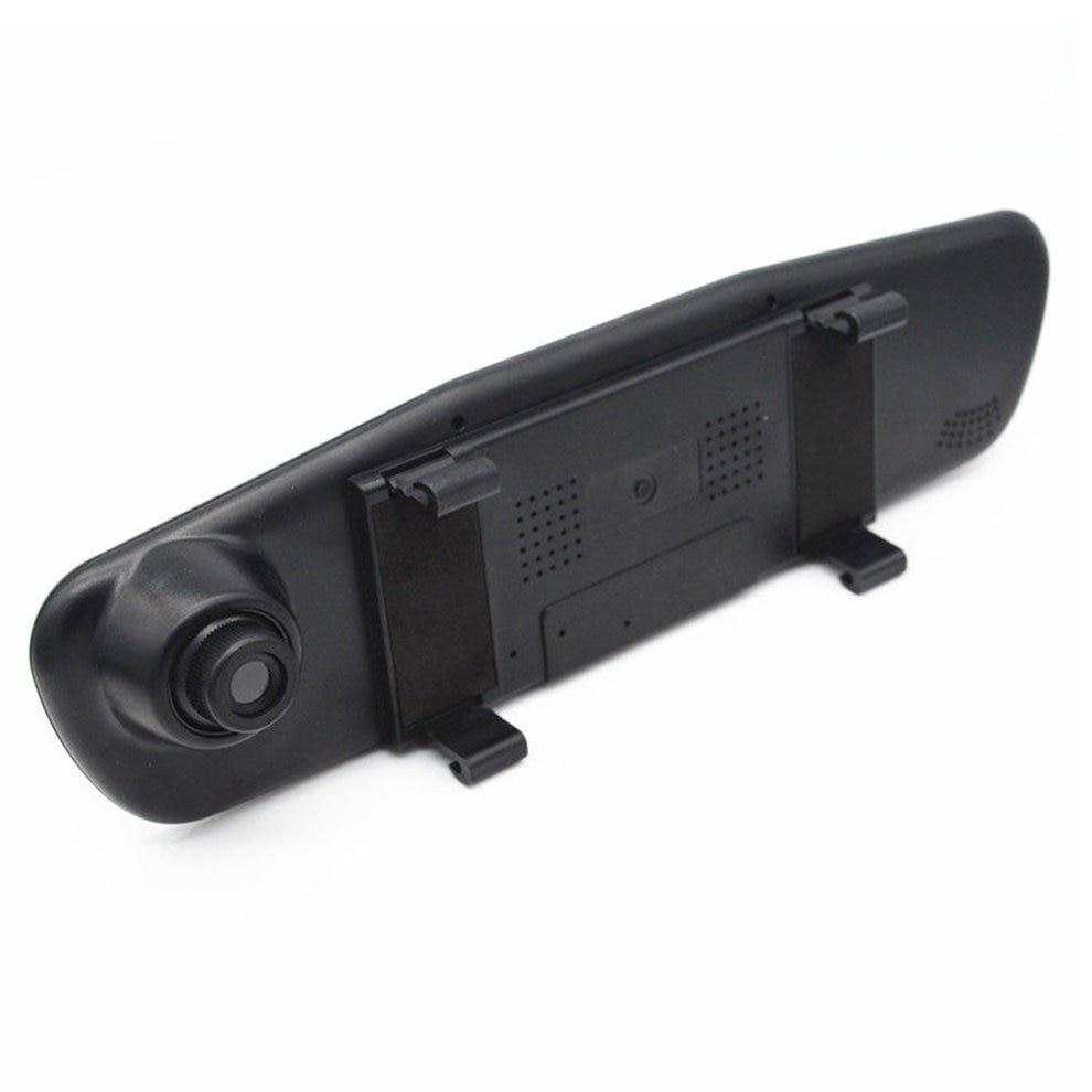 Cámara DVR de 1080 pulgadas para coche 120 p 2,8 grados gran angular Dashcam espejo cámara de visión trasera para coches visión nocturna cámara de conducción