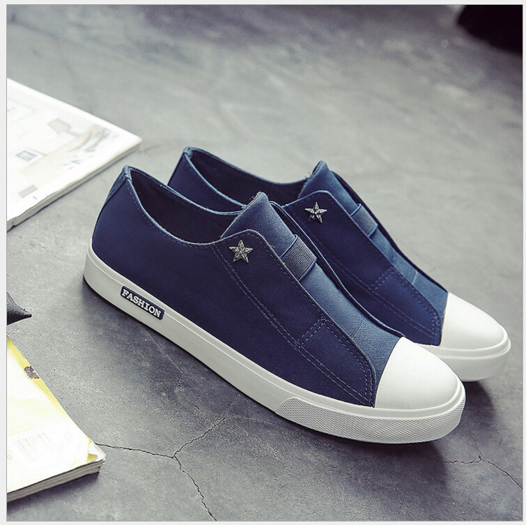 Men Leisure Breathable Slip-on Canvas Flat Shoes cheap brand new unisex cheap price for sale affordable sale online cheap sale top quality 08aWCzAob