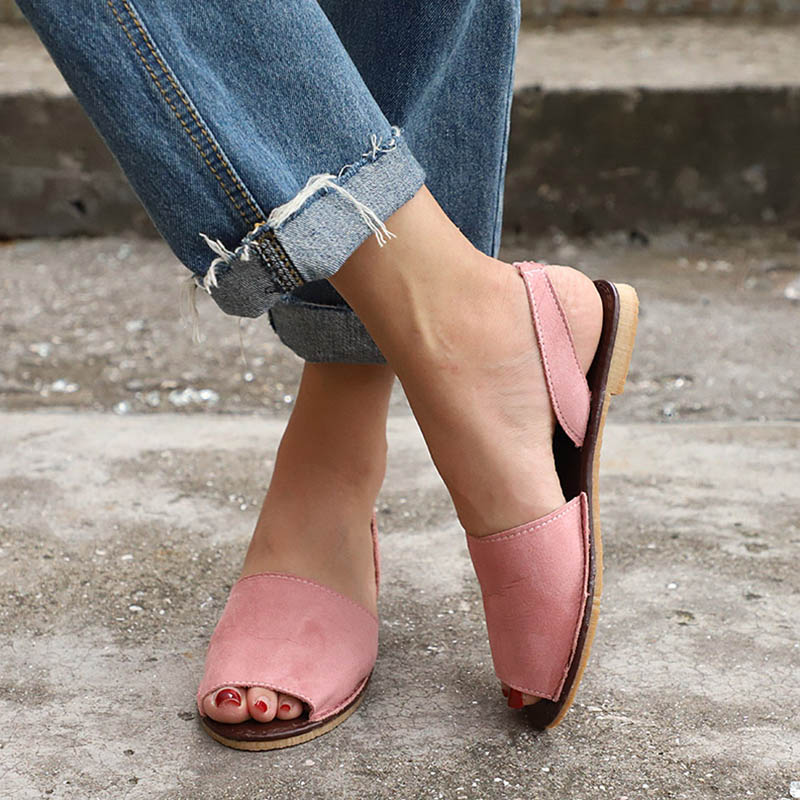 Women Flat Summer Sandals 2018 Ladies Gladiator Peep Toe Elastic Band Fashion Platform Shoes Plus Size Female Casual Footwear new 2018 summer women shoes sandals peep toe flat open toe pu leather roman female casual sandals shoes plus size