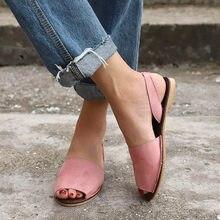 58a73b571a Frauen Flach Sommer Sandalen Damen Gladiator Peep Toe Elastische Band Mode  Plattform Schuhe Plus Größe Weibliche Casual Schuhe