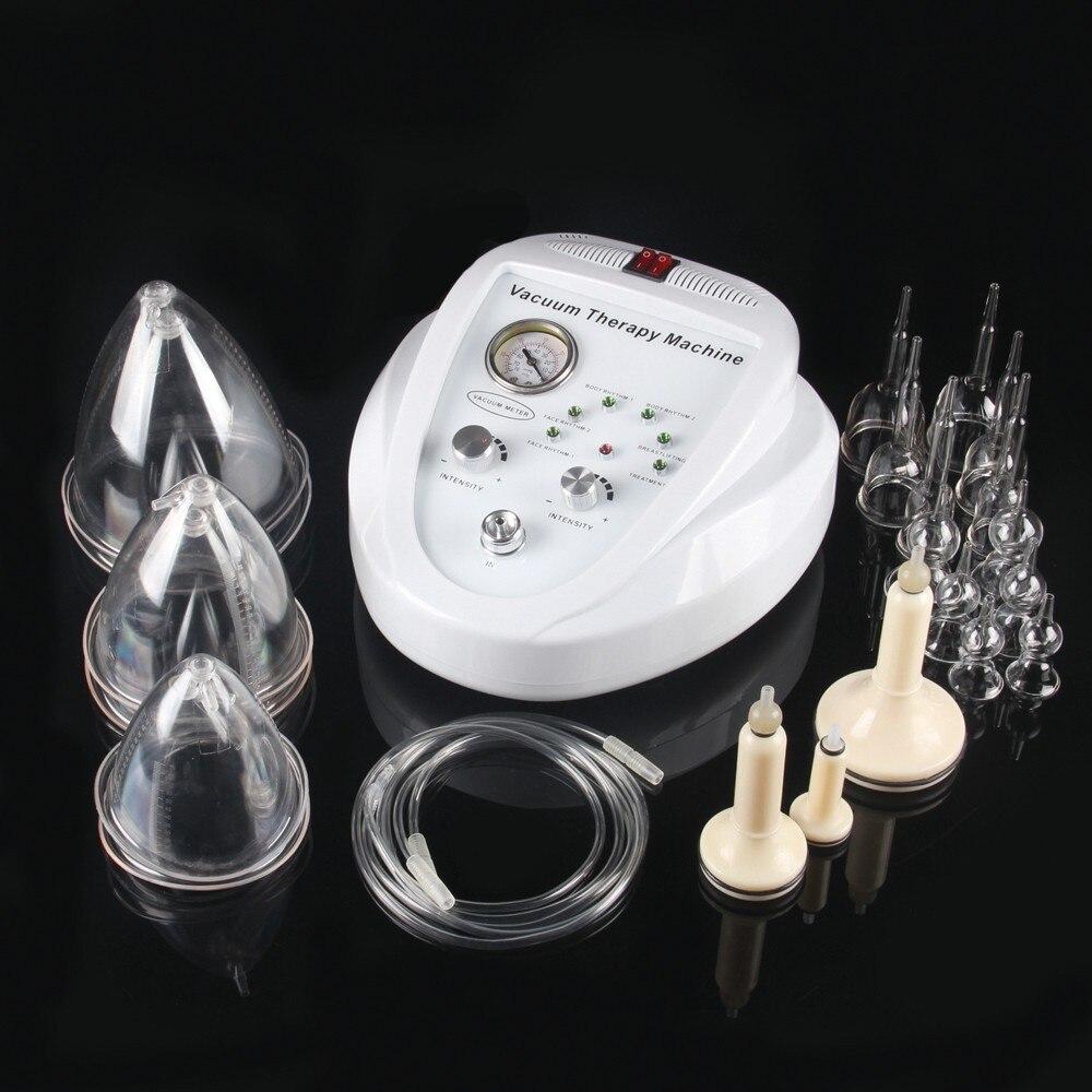 Nouveau CEPortable Cellulite réduction de graisse et de thérapie sous vide machine à ventouses Poitrine Liposuccion Masseur Sucer Instrument de Massage