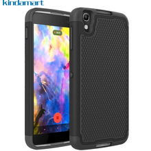 Hybrid TPU & PC Dual Cover Protective Case For Alcatel idol 4 idol4 6055K Case Ball Texture Phone Cover For Blackberry DTEK50