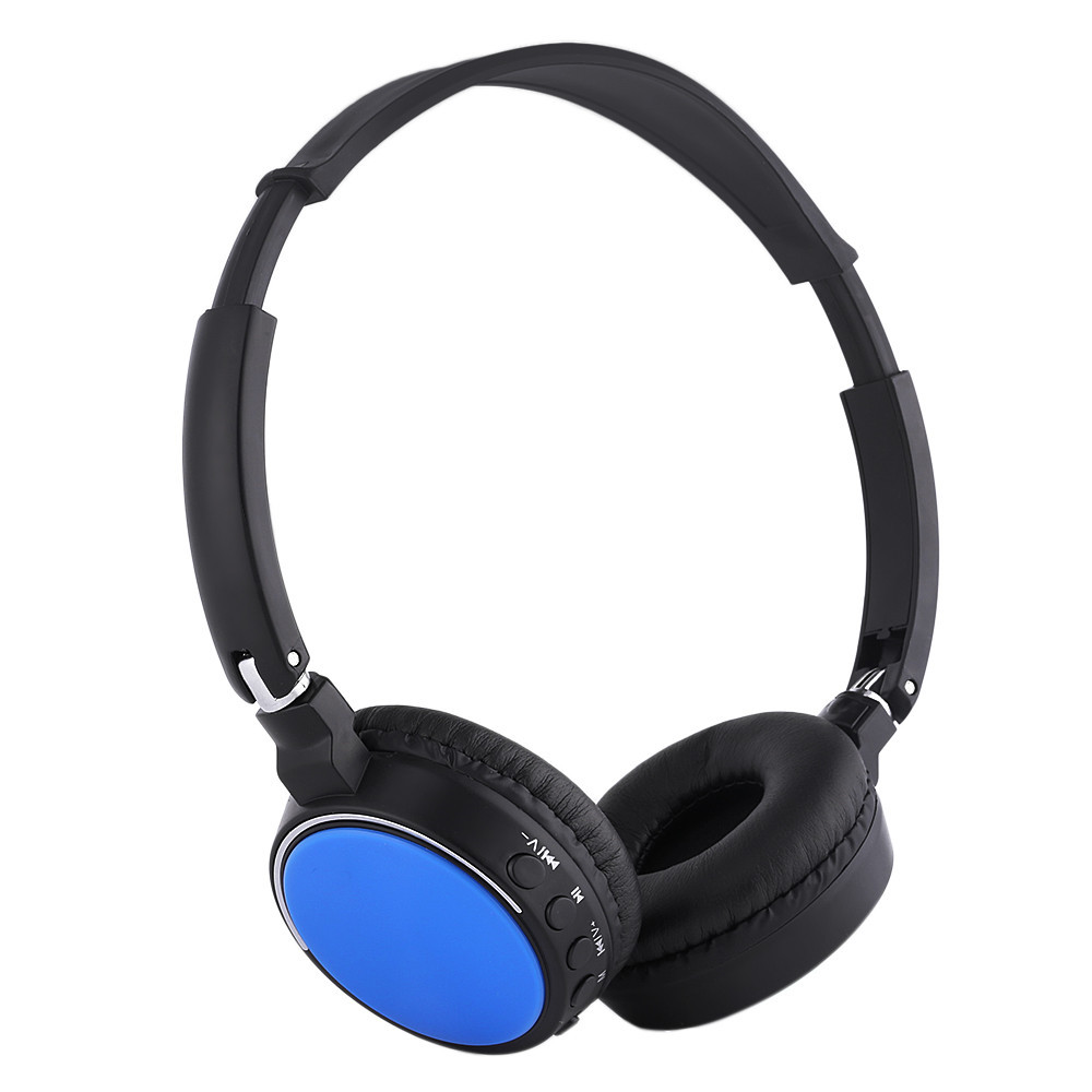 BT800 Bluetooth Wireless Earphones Supports SD Card FM Radio With Mic Stereo Headset For Moilb Phone PC MP3 Music Headphone