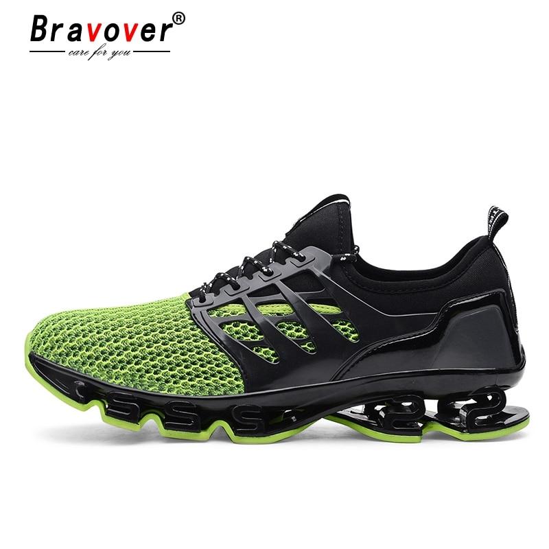Moda Zapatos 48 Par Para Malla Casual 36 Zapatillas Bravover De Nuevas Transpirables Eur Deporte Hombre Yfgb76y