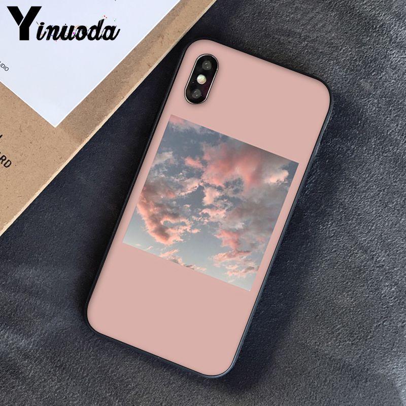 Yinuoda, розовый, эстетический, песни, лирика, эстетический, мягкий силиконовый чехол для телефона, чехол для iPhone 8, 7, 6, 6 S, 6 Plus, X, XS, MAX, 5, 5S, SE, XR, 10 - Цвет: A3