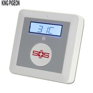 Image 5 - GSM Hệ Thống Báo Động Nhà Báo Động Bộ DIY Nhà Báo Động Lửa Xâm Nhập An Toàn SOS Báo Trộm K4 Gói Bộ Một