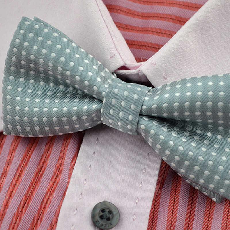 Quente cor sólida gravata borboleta para homem smoking arcos das crianças executando onda ponto gravata laços atacado festa de casamento