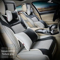 Winter Plush Car Seat Cushion Thick Warm For General Car Use Free Shipping