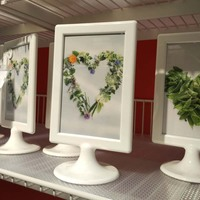For IKEA Photo Frame TOLSBY Frame For 2 Pictures It Is Also Menu Holder Stand Picture