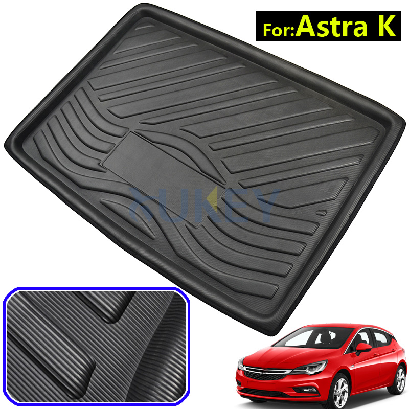 Liner-Tray Opel Holden Vauxhall Astra-K Floor-Mat Trunk Cargo for BK Luggage Mud Tailored