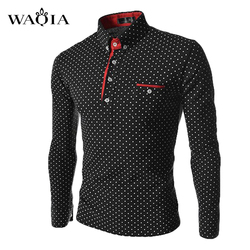 2016 spring men dot polo shirt british style slim fit long sleeve casual polo shirt polo.jpg 250x250