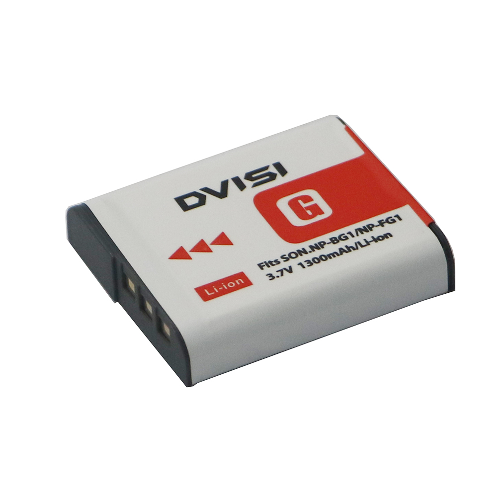 3.7 V 1300mah Camera Digital Battery for Sony NP-BG1 NP-FG1 DSC-H3 DSC-W70 BC-CSGE BC-CSGD W30