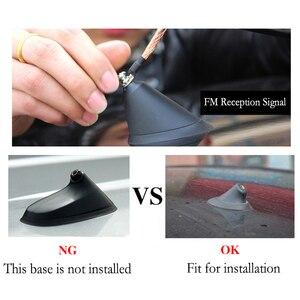 Litanglee Auto Shark Fin Antenne Externe Dekoration Für Citroen C1 C2 C3 C5 C6 DS3 DS4 DS5 Auto Styling Auto dach FM Signal