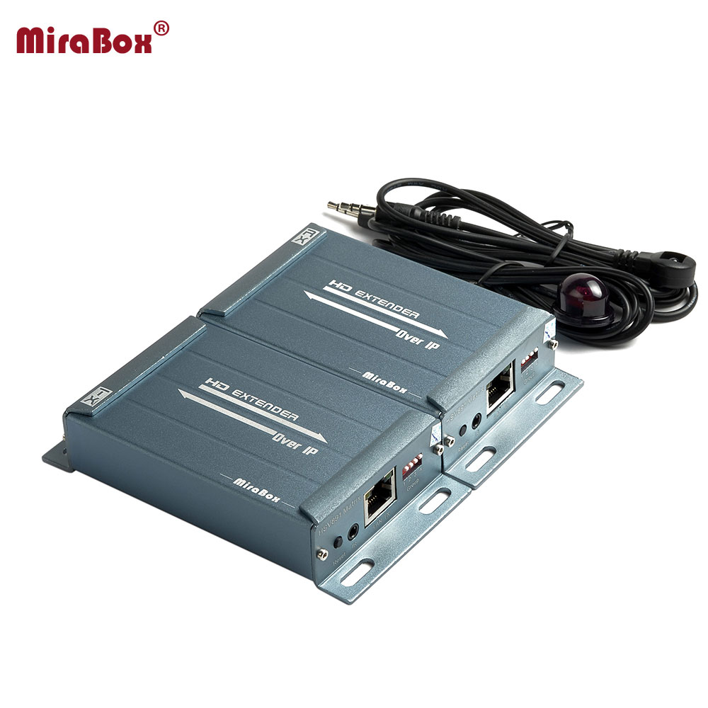 Multi Sender multi Receiver HDMI Extender Support HD1080P IR Control Over TCP IP With Audio Extractor