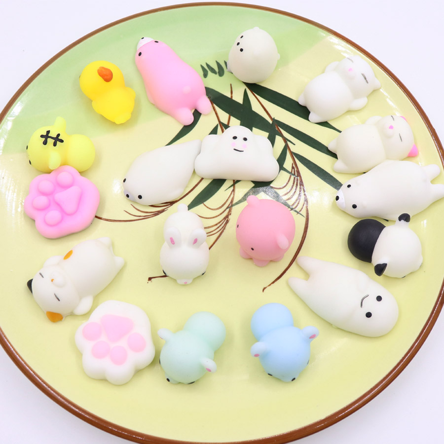 Cute Mini Squishy Toy Unicorn Antistress Ball Squeeze Fun Joke Toys Squishi Stress Relief Toys Funny Gift Gags & Practical Jokes Novelty & Gag Toys