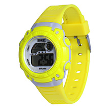 HONHX Children girls Digital Quartz LED Wrist Watch Date alarm Sport, Yellow