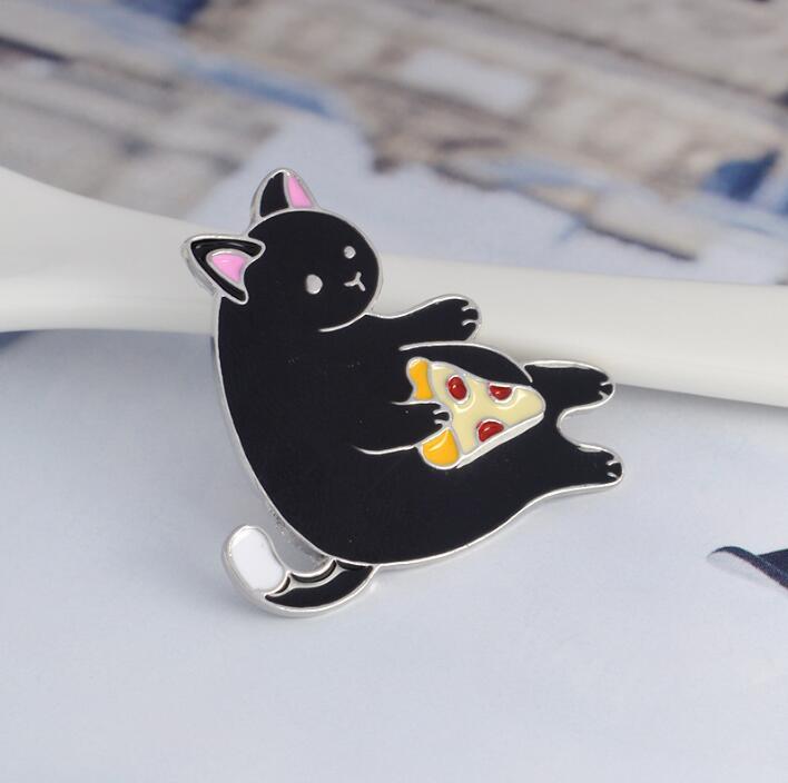 Черный кот торт