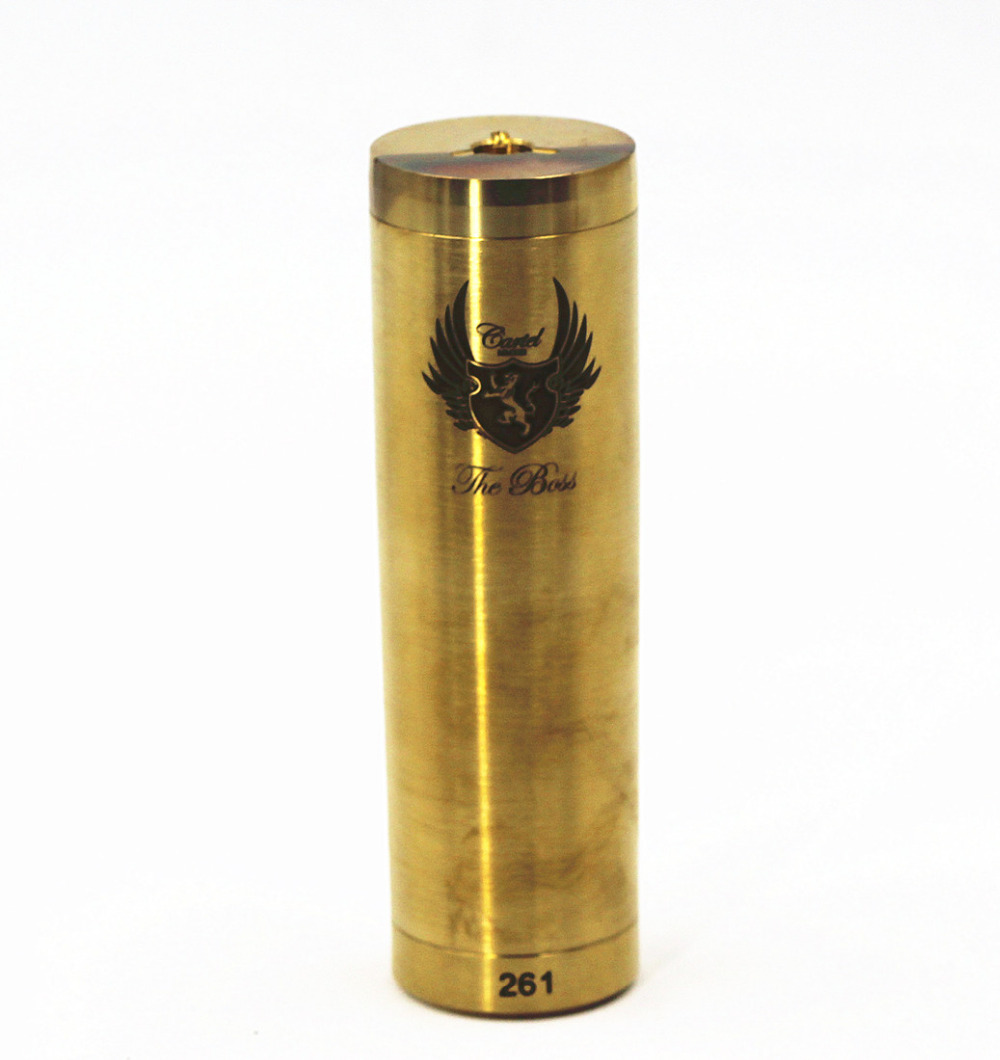 Cartel Mechanical Mod 26650 Mech Mod Vaporizer Vapor Vape Battery Body Tube Nemesis