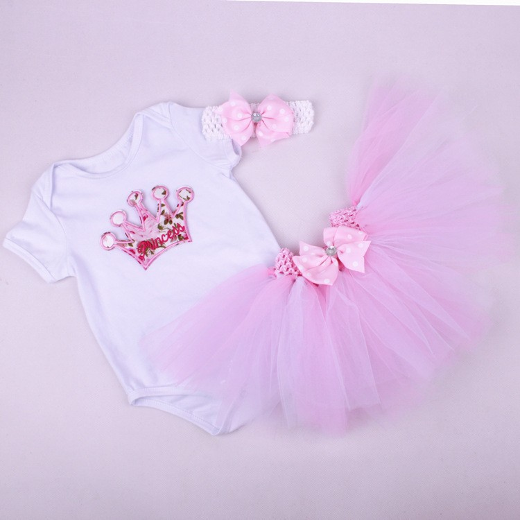 Newborn Girls Summer Baby Clothing Sets (7)