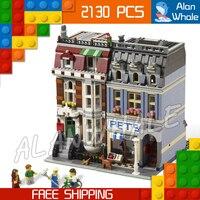 2130pcs Creator Expert Pet Shop Construct Collection DIY 30015 Figure Building Blocks Asssemble Toys Compatible with LegoING