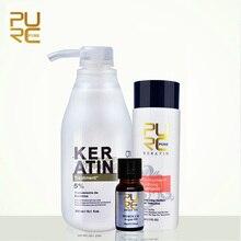 PURC brazilian keratin hair straightening treatment 5% formalin keratin and 100m