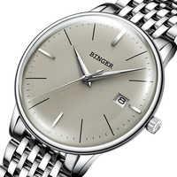 新深酒をする人機械式時計男性ブランドの高級メンズ腕時計サファイア腕時計男性防水リロイ Hombre B5078M-4