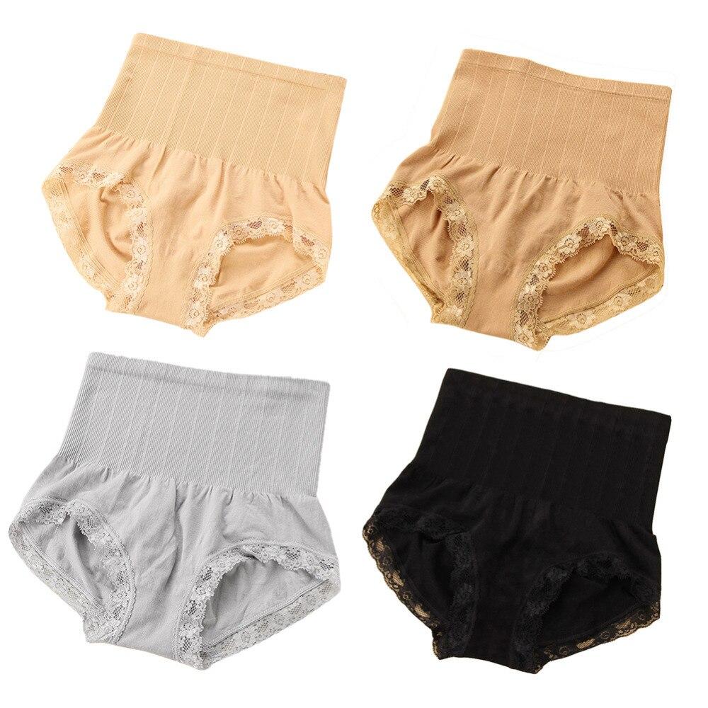 44a154861e High Quality High Waist Women Panties Seamless Underwear for Postpartum  Belly Lace Modal Body Shapers Women