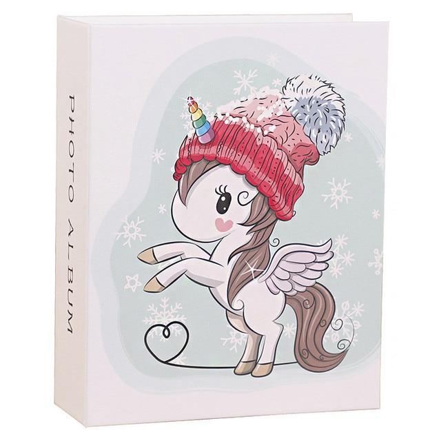 החדש 6 אינץ אלבום תמונות קריקטורה חמודה תיבת אחסון תמונה הכנס דף אלבום אוהבי ילדי חתונה זכרונות ספר Fotoalbum foto