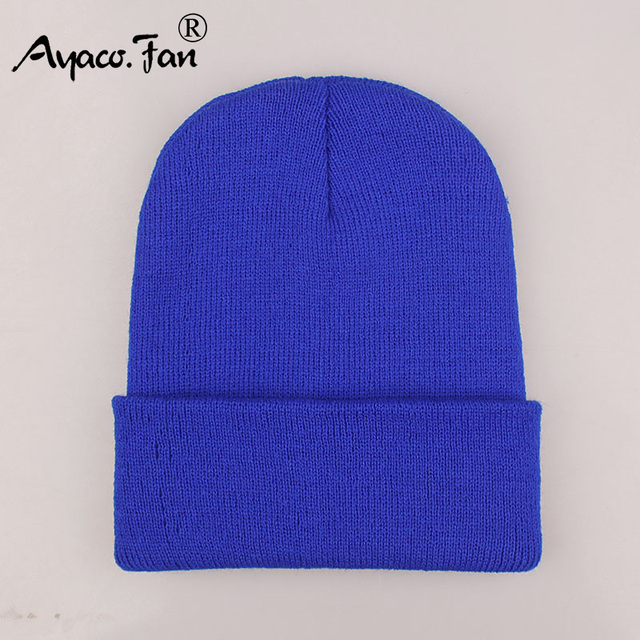 2018 Winter Hats for Woman New Beanies Knitted Solid Cute Hat Girls Autumn Female Beanie Caps Warmer Bonnet Ladies Casual Cap