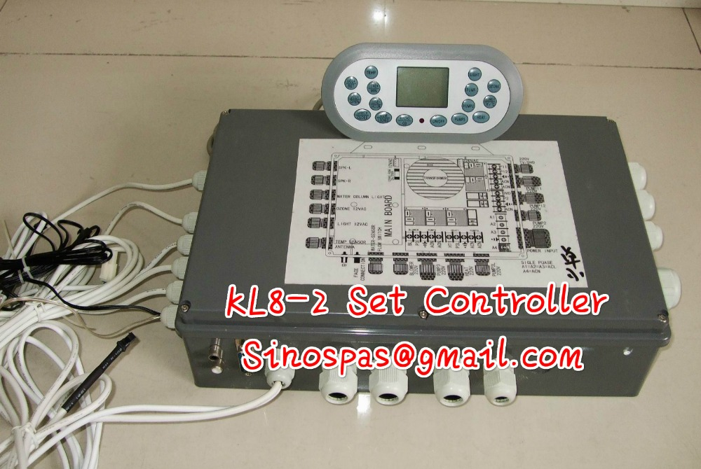 HOT TUB SPA CONTROLLER PACK CONTROLLER SPASERVE JNJ KL8-2 TCP8-2 spa-8028,fit JNJ,MESDA,JAZZI SPA senseit p3