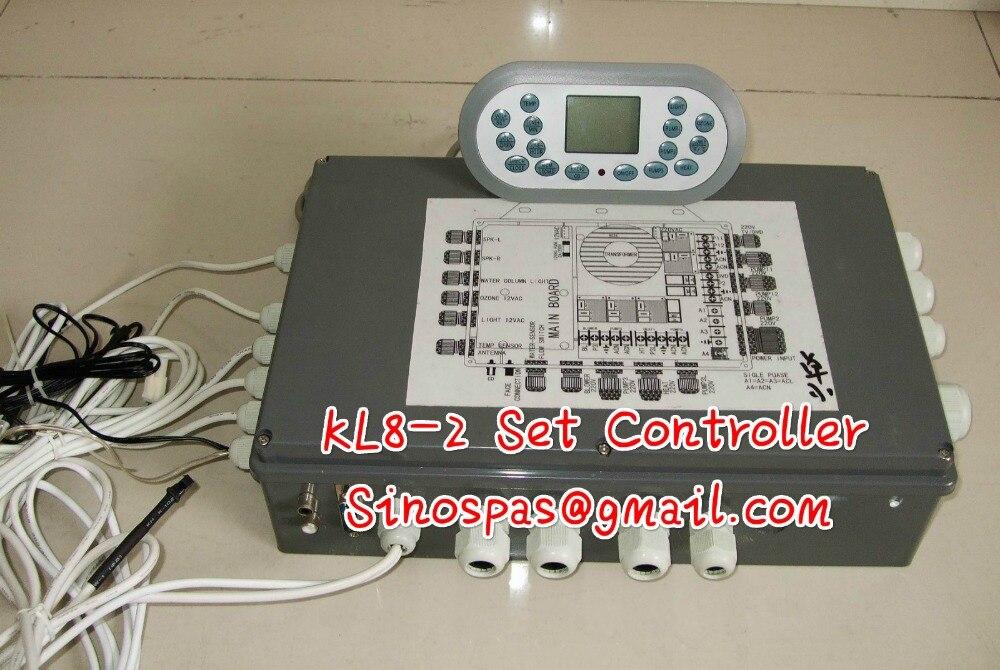 HOT TUB SPA CONTROLLER PACK CONTROLLER SPASERVE JNJ KL8-2 TCP8-2 spa-8028,fit JNJ,MESDA,JAZZI SPA