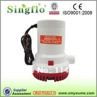 Singflo Bilge 12 V Dalgıç Balıkçı Teknesi Su Pompası 2000 GPH